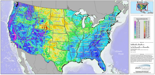 Americas Wind Energy Potential Triples In New Estimate Energy - Current us wind map